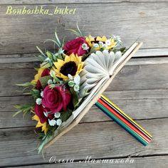 Felt Flower Bouquet, Felt Flowers, Paper Flowers, Flower Box Gift, Flower Boxes, Five Senses Gift, Ikebana, Edible Bouquets, Sola Wood Flowers