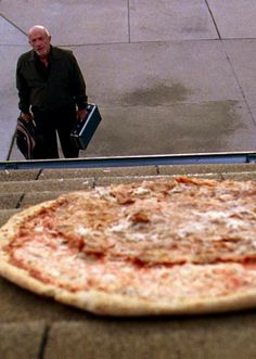 Breaking Bad | Mike ponders Walt's roof pizza. One of the funniest BrBa moments