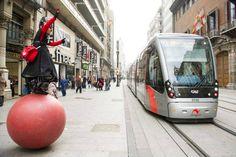 El nuevo tranvia de Zaragoza