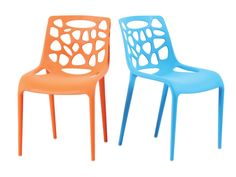 A stackable chair with interesting hole cut-outs that gives this chair a futuristic-feel. Marco is a comfortable chair with its high backrest and good curves at important places. Comfort Design, Stackable Chairs, Colorful Furniture, Side Chairs, Furniture Design, Home Decor, Decoration Home, Room Decor, Side Chair