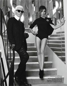 ELLE FRANCE Karl Lagerfeld & Victoria Beckham by Karl Lagerfeld. Hortense Manga, October 2012, www.imageamplified.com, Image Amplified (6)