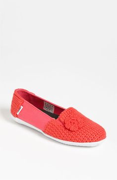 helping empower people to rise above poverty through the collaboration of Krochet Kids and Vans shoes. Vans 'Bixie' Crochet Slip-On available at Nordstrom for $60.  A  stripe is also offered