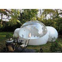 Today's Deals RelaxNow(TM) 2 Tunnel Transparent Bubble Tent Outdoor Inflatable…