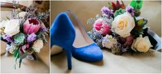 Williamsburg VA Winter Wedding Colorful Wedding Bouquet  Luke & Ashley Photography