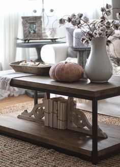 3 Ways to Style a Coffee Table with lots of tips and tricks from each look