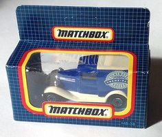 "MATCHBOX / LESNEY - Diecast MB38 - FORD MODEL A ""Lightwater Valley"" - 1980s MIB - http://www.matchbox-lesney.com/52215"