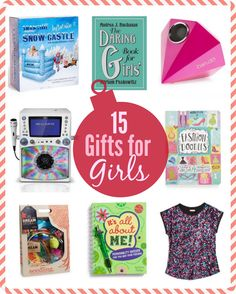 15 Great Gifts for Girls