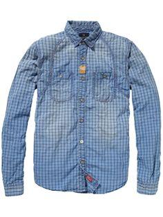 Constructed Work Wear Shirt > Mens Clothing > Shirts at Scotch & Soda
