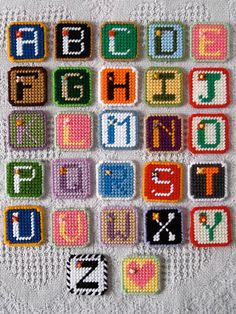 ♡ Alphabet Tiles ♡ -- My NEW ePattern is now available at e-PatternsCentral.com!