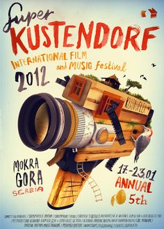Flyerfolio » A showcase for awesome flyer designs » Kustendorf 2012