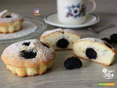 MUFFIN CON GELSI NERI  #ricette #food #recipes