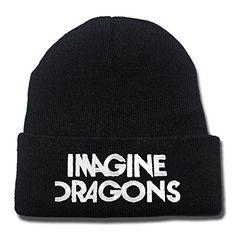 JRICK Imagine Dragons Rock Band Logo Beanie Fashion Unisex Embroidery Beanies Skullies Knitted Hats Skull Caps - Black/White JRICK Beanies http://www.amazon.com/dp/B017VWXX3U/ref=cm_sw_r_pi_dp_uu0Gwb1M947BV