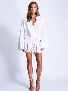 Maurie & Eve Pero Shirt White