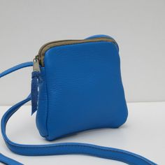 Small Leather Shoulder Pouch #leather #handbags #purses
