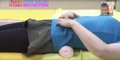 Korte japanse oefening tegen lage rugpijn