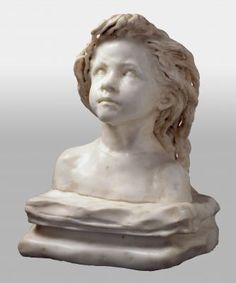 camille claudel - la petite chatelaine Camille Claudel, Female Head, Auguste Rodin, Art Nouveau, Sculpting, Clay, Cherubs, Statue, Portrait
