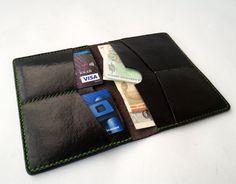 Black leather walletmens leather walletcredit card
