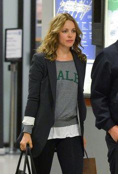 Rachel McAdams Photos: Rachel McAdams Arrives at LAX