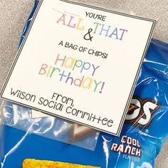 Five for Fraturday - A Teeny Tiny Teacher Birthday Rewards, Teacher Birthday, Birthday For Him, Birthday Treats, Teacher Morale, Staff Morale, Welcome Back Gifts, Teaching 6th Grade, Morale Boosters