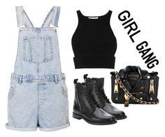 """GIRL GANG"" by jenniferfls on Polyvore"