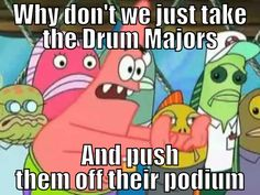 Drum Major Problems