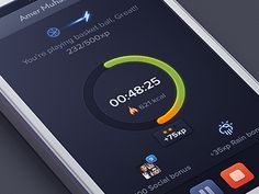 Healthy Heroes (start-time) designed by Zulal Ahmad. Connect with them on Dribbble; Interface Design, User Interface, Ui Design, Icon Design, Start Time, Find Friends, Health App, Mobile Game, Mobile Ui