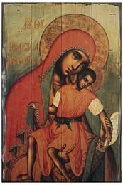 Our Lady of Eleus by Simon Ushakove is a wonderful example of a Black Madonna Religious Images, Religious Icons, Religious Art, Blessed Mother Mary, Blessed Virgin Mary, Russian Icons, Byzantine Icons, Holy Mary, Madonna And Child