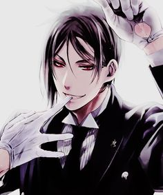 Image via We Heart It https://weheartit.com/entry/184378454 #anime #blackbutler #kuroshitsuji #manga #sebastianmichaelis