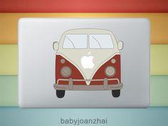 VM Bus #decal #MacBook #gadget #sticker $9.50, via Etsy.