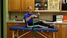 it band hip stretches - YouTube It Band Syndrome, Hip Stretches, Cabinet, Storage, Youtube, Furniture, Home Decor, Clothes Stand, Purse Storage
