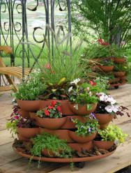 Stack and Grow terracotta Ideas...