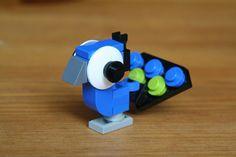 https://flic.kr/p/9hYpjm | Lego Peacock | another big eyed lego build