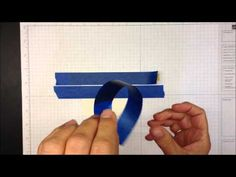 ▶ Stamping with Painter's Tape - YouTube