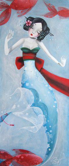 Geisha Mermaid