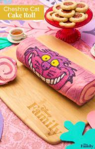 Cheshire Cat Cake Roll | Disney Family