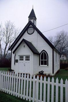 Burgoyne United Church built in 1887