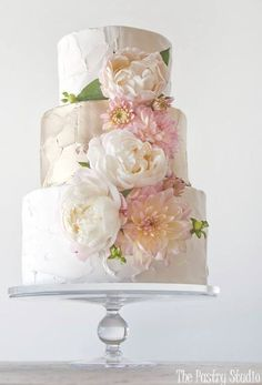 Wedding cake idea; Featured: The Pastry Studio