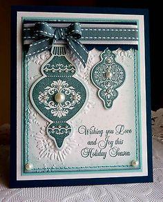 """Stampin up! Handmade """"Holiday Season"""" card - NEW"""