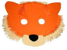Un petit masque de renard tout simple à réaliser pour les enfants #masquecarnaval #masquecarnavalenfant