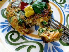 Hope For Healing: GF Spinach Quinoa Socca Cakes (vegan)