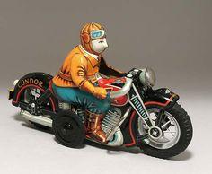 ヨネザワ/山崎玩具 (I・Yメタル) コンドル モーターサイクル(CONDOR MOTORCYCLE)