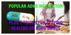 How to stay healthy while taking ADHD medication (super important):    http://adhdboss.com/adhd-medication-healthy/    #ADHD #ADD #vyvanse #adderall #concerta #meds