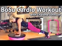 Bosu home workout with Chalene Johnson HIIT training you can do at home