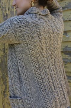 Ravelry: The Oban Cardigan pattern by Thea Colman knitting patterns The Oban Cardigan pattern by Thea Colman Ladies Cardigan Knitting Patterns, Knit Cardigan Pattern, Knit Patterns, Stitch Patterns, Lion Brand, Knit Crochet, Crochet Hats, Crochet Granny, Lang Yarns