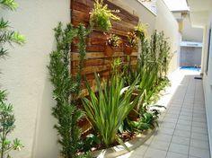 Construindo Minha Casa Clean: Jardins Externos Pequenos em Corredores!
