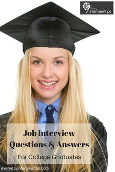 interview questions for new college graduates