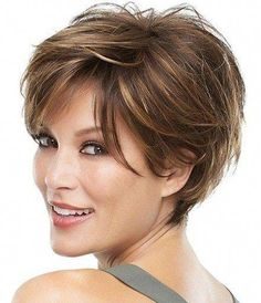 Today we have the most stylish 86 Cute Short Pixie Haircuts. We claim that you have never seen such elegant and eye-catching short hairstyles before. Pixie haircut, of course, offers a lot of options for the hair of the ladies'… Continue Reading → Short Curly Hairstyles For Women, Short Sassy Haircuts, Short Hair Cuts For Women, Curly Hair Styles, Thin Hairstyles, Short Layered Hairstyles, Model Hairstyles, Stacked Haircuts, Hairstyles 2018