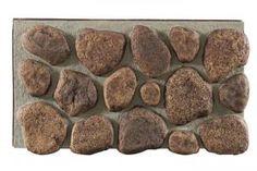 Texture Plus Panels - River Rock Giant Select - Tan Gray Grout - Interlock