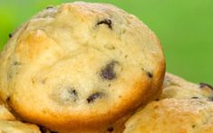 92-Calorie Banana Chocolate Chip Muffins