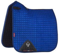 Lemieux Pro-Sport Dressage Pad - Benetton Blue - 20x60  - 1